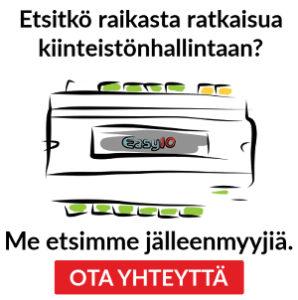 EasyIO kiinteistöautomaatio jälleenmyyjille